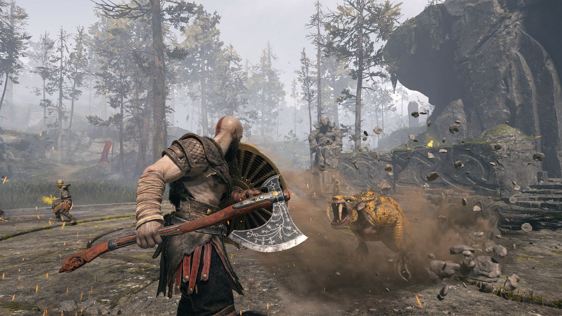 God of War' Tips And Tricks: Bell Puzzle Solutions, Boss Fights And More