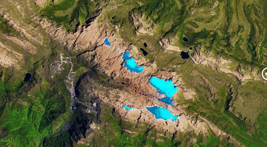 glacier loss in new guinea nov 3 1988