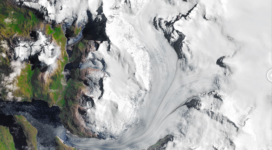 south patagonian glacier jan 27 1985
