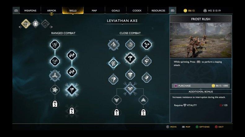 God Of War Beginner S Guide Stats Battling Skill Trees And More