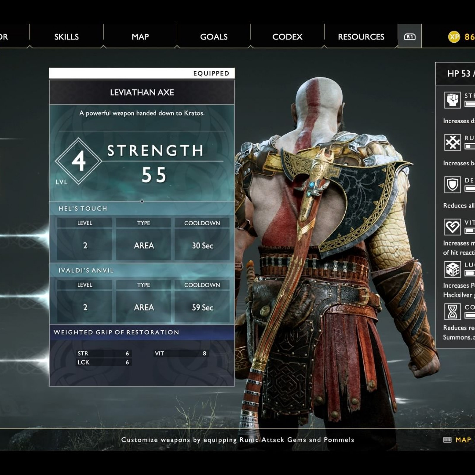 God Of War Luck Stat What It Does Plus Best Armor And