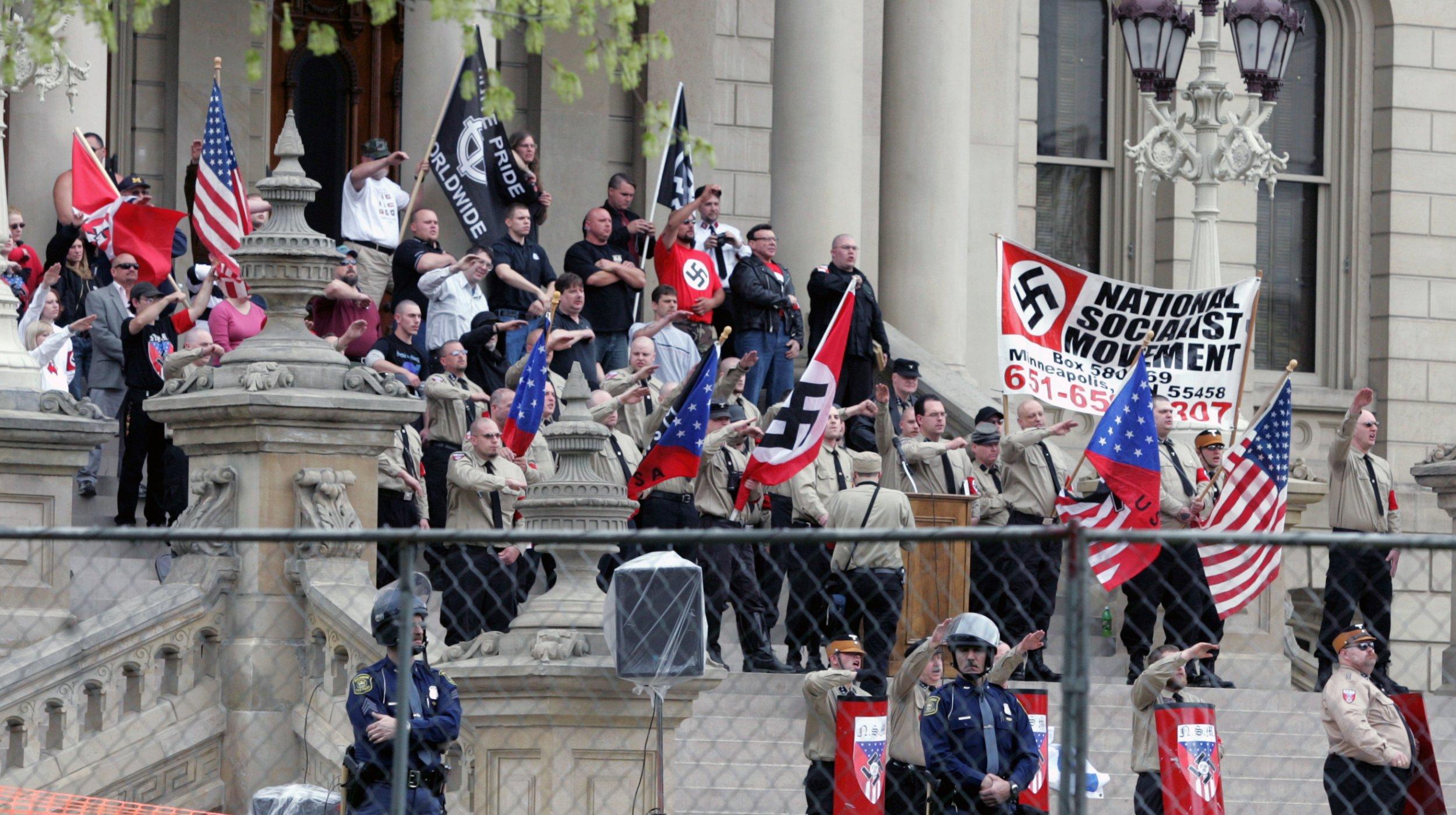 Neo-Nazis March in Georgia To Mark Hitler's Birthday