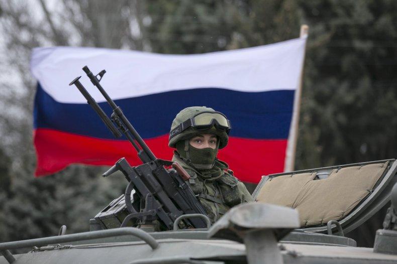 Crimea soldier