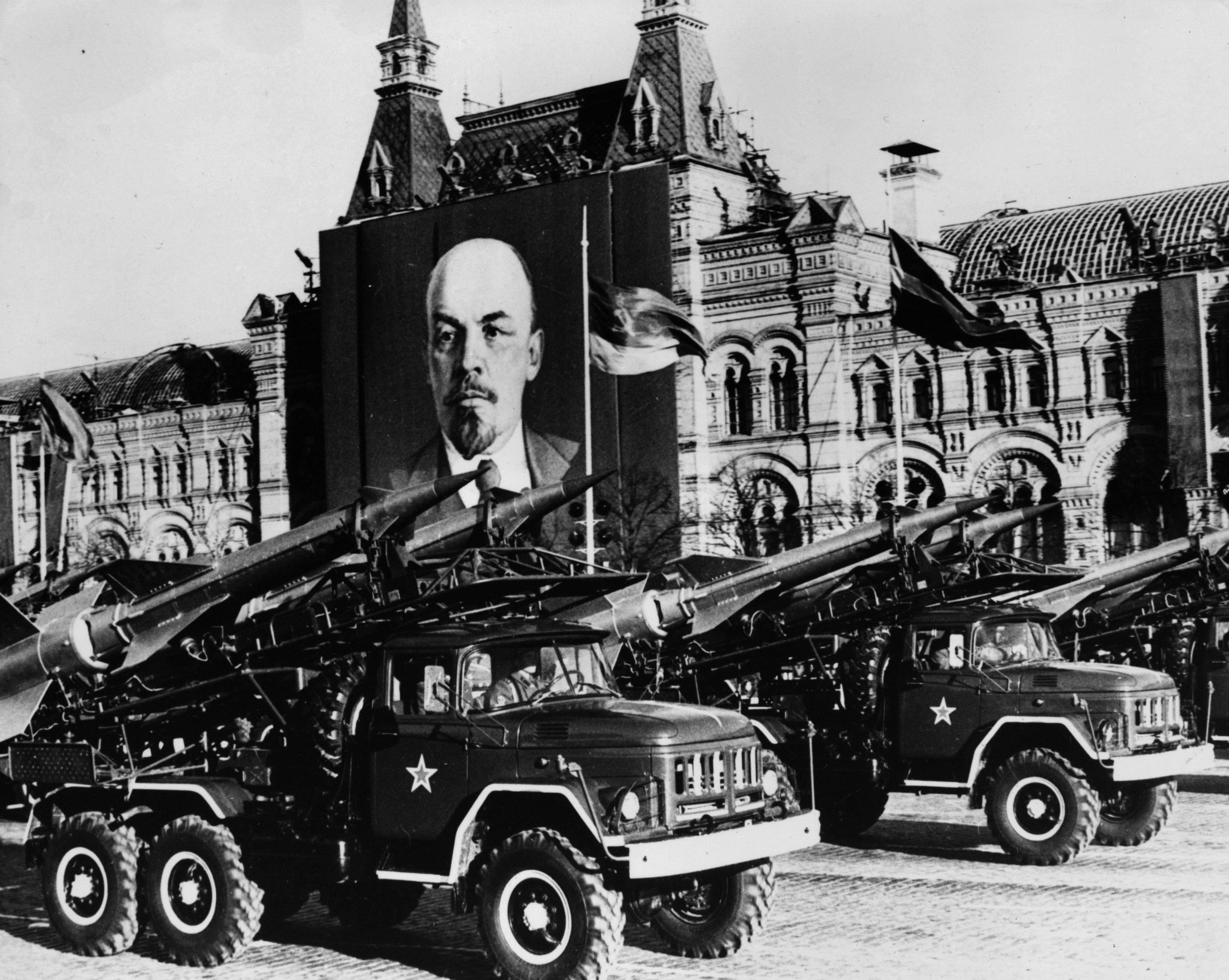 May Day parade Lenin