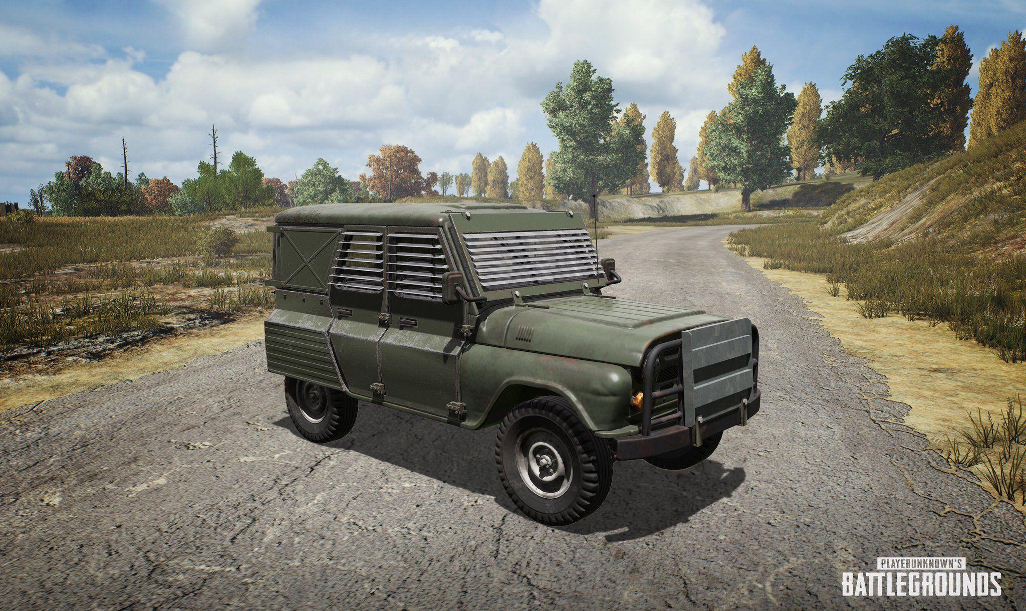 Pubg Wallpaper Flare Gun: 'PUBG' Metal Rain Event Adds Special Vehicle