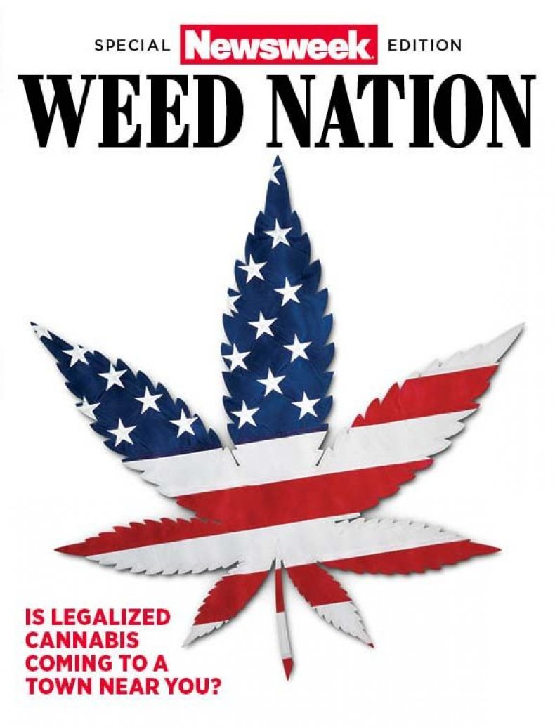 Weed Nation #2 Cover