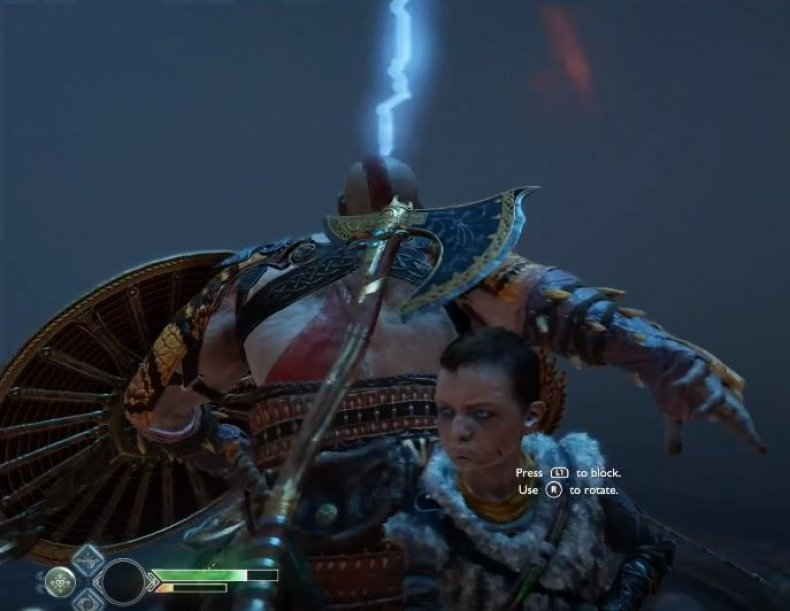 God of war Magni Modi boss fight get  frozen flame, leviathan axe best skills, armor, weapons, magic, chisel