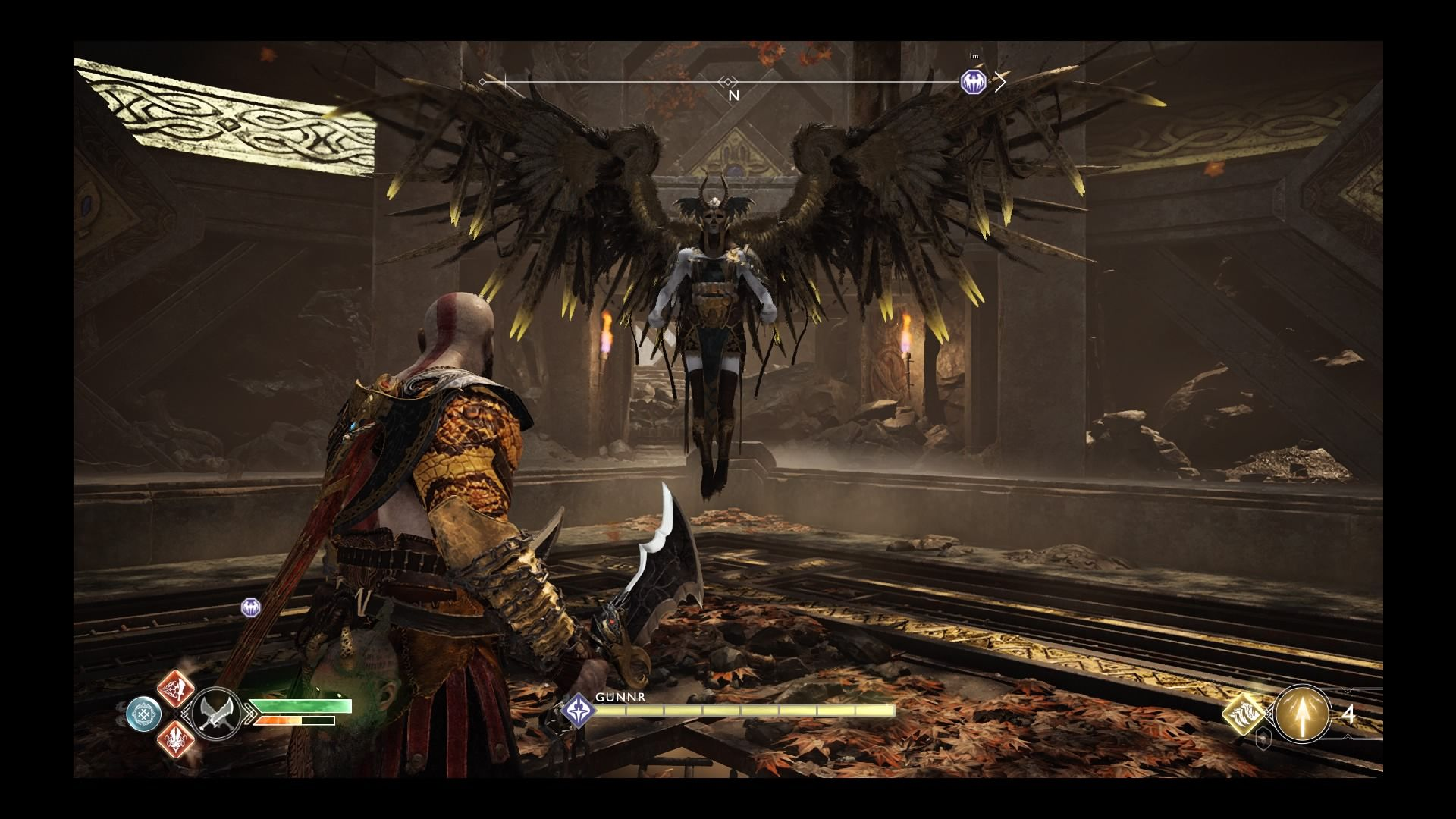 English In Italian: 'God Of War' Hidden Chamber Guide: How To Find Valkyries