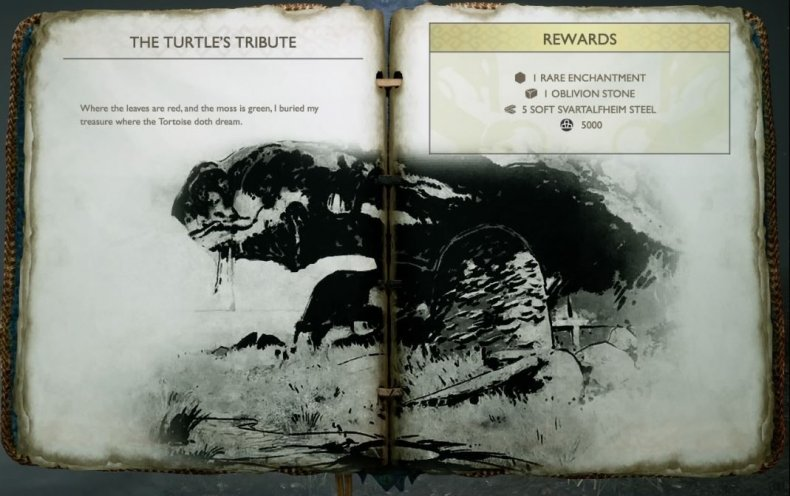 turtles tribute god, of, war, treasure, map, locations, how, where, find, hidden, buried