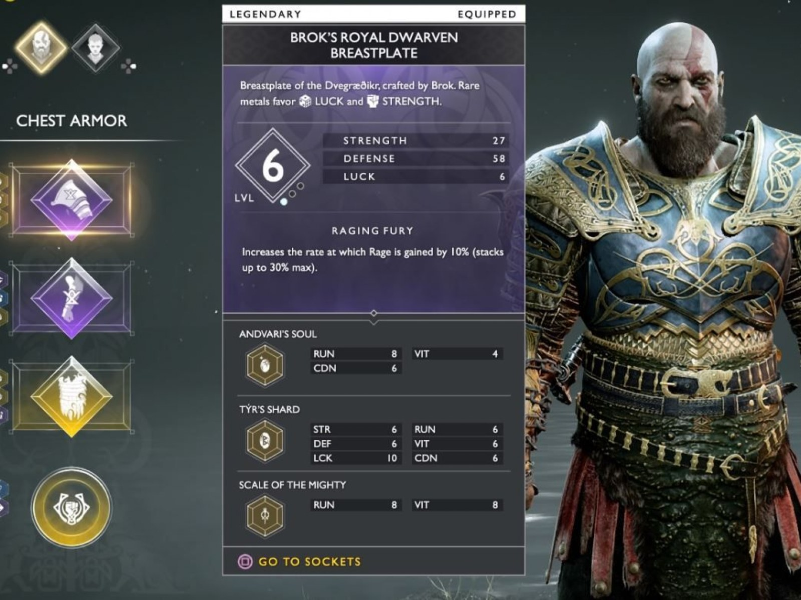 God of War' How To Use Enchantments To Make The Best Armor