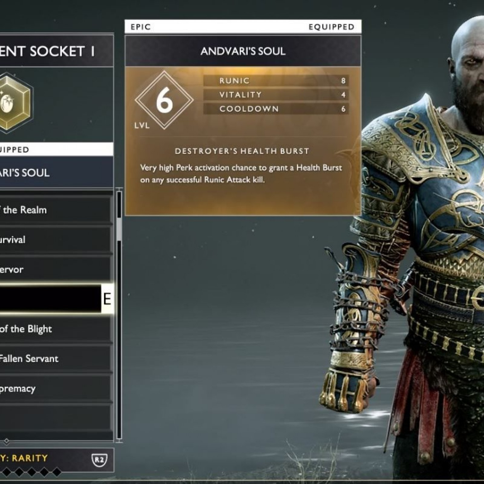 God Of War How To Use Enchantments To Make The Best Armor