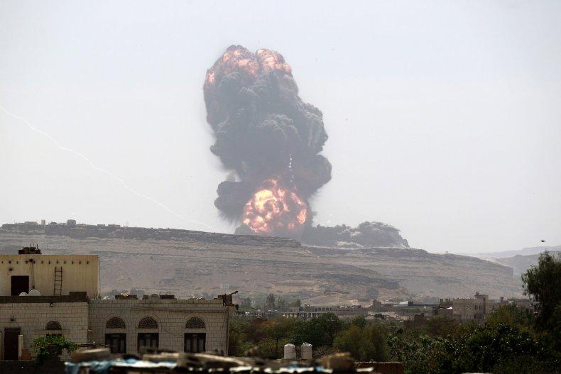 Saudi airstrike Yemen