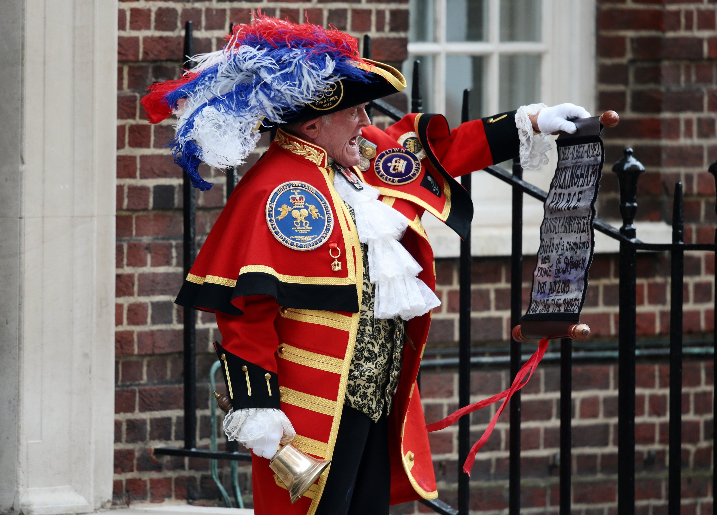 royal baby  the fake town crier strikes again