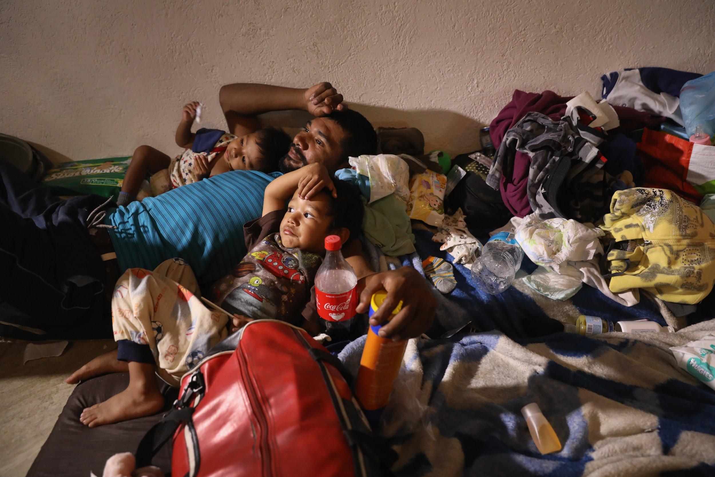 Trump brands migrant caravan a 'disgrace,' orders Homeland Security to turn away immigrants at border (newsweek.com)