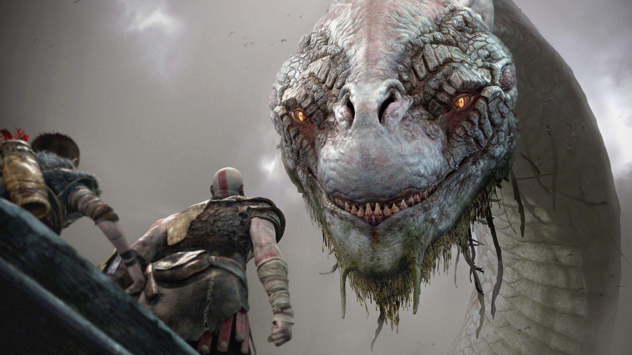 Image result for World snake god of war