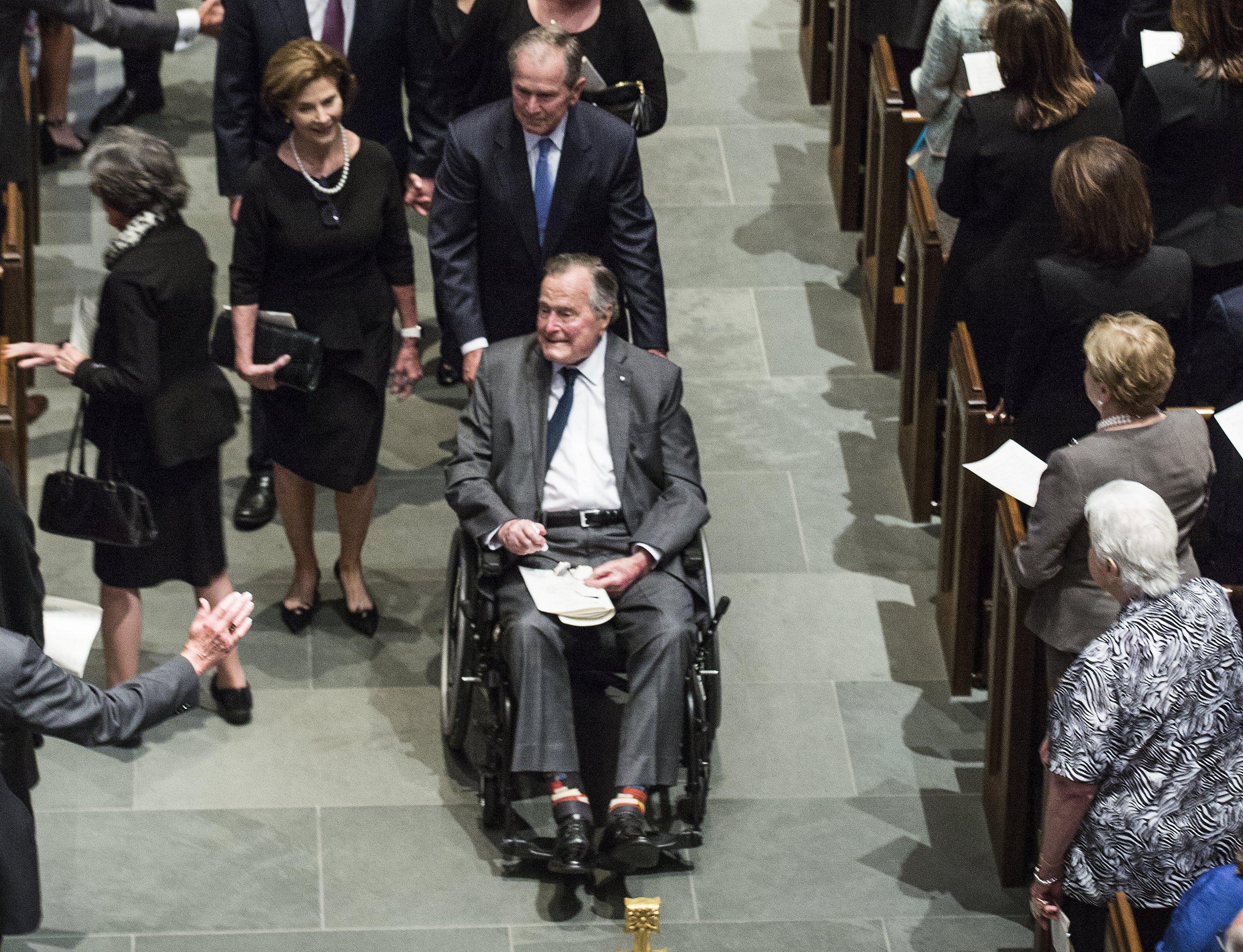 Vascular Parkinsonism, George H.W. Bush Dies Aged 94