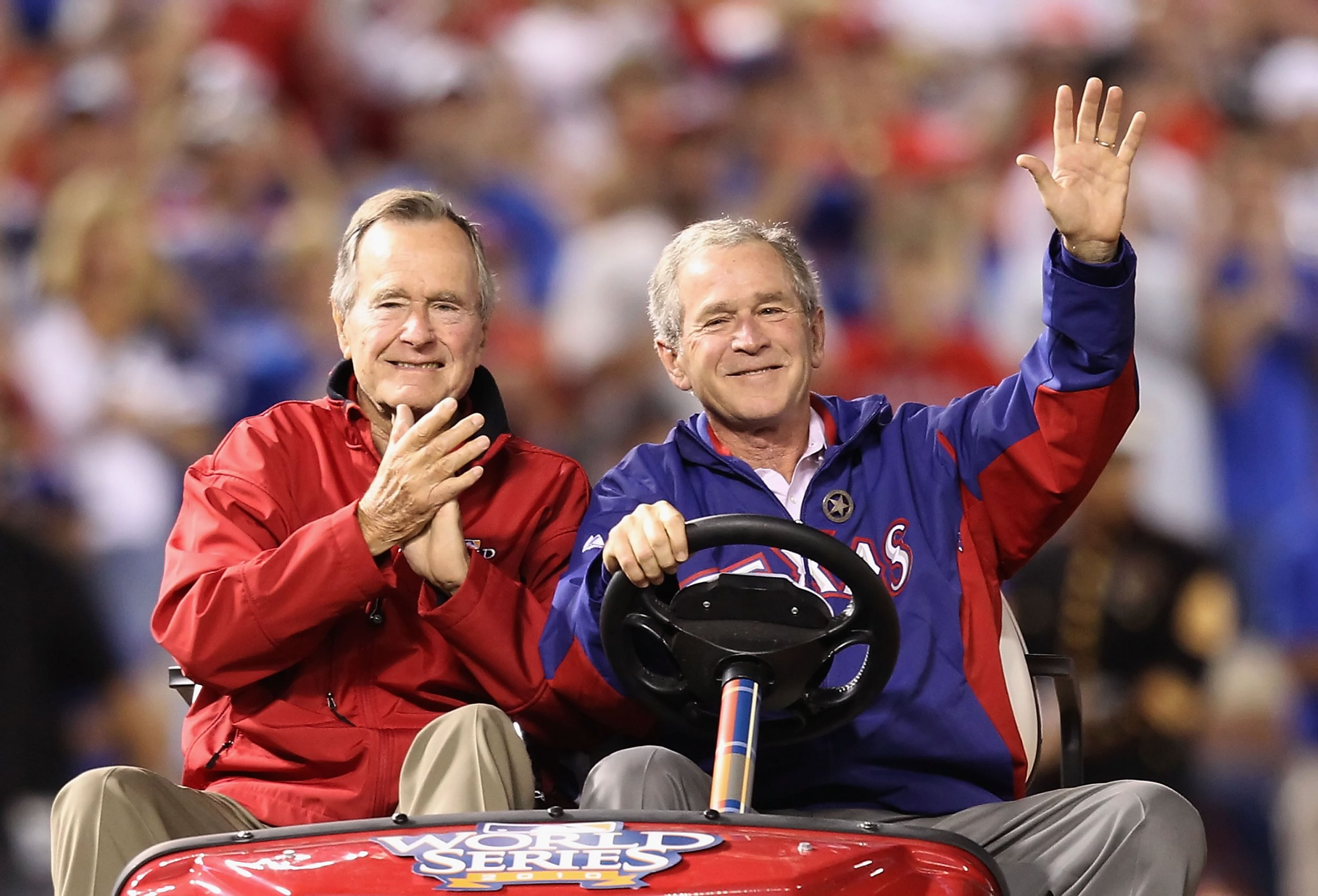 Bush presidents 41 and 43