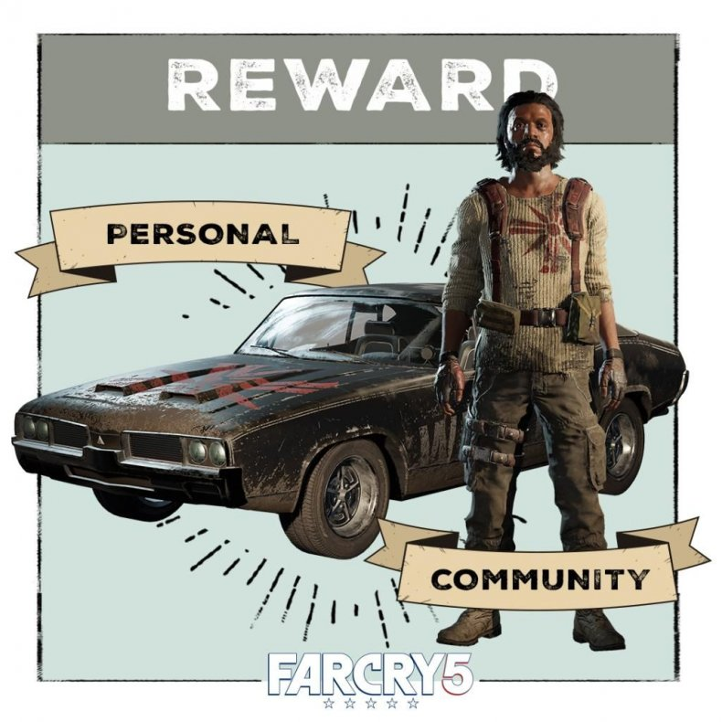 Far Cry 5 Pickup Blowup Live Event Guide How To Get Cultbuster And Other Live Event Awards