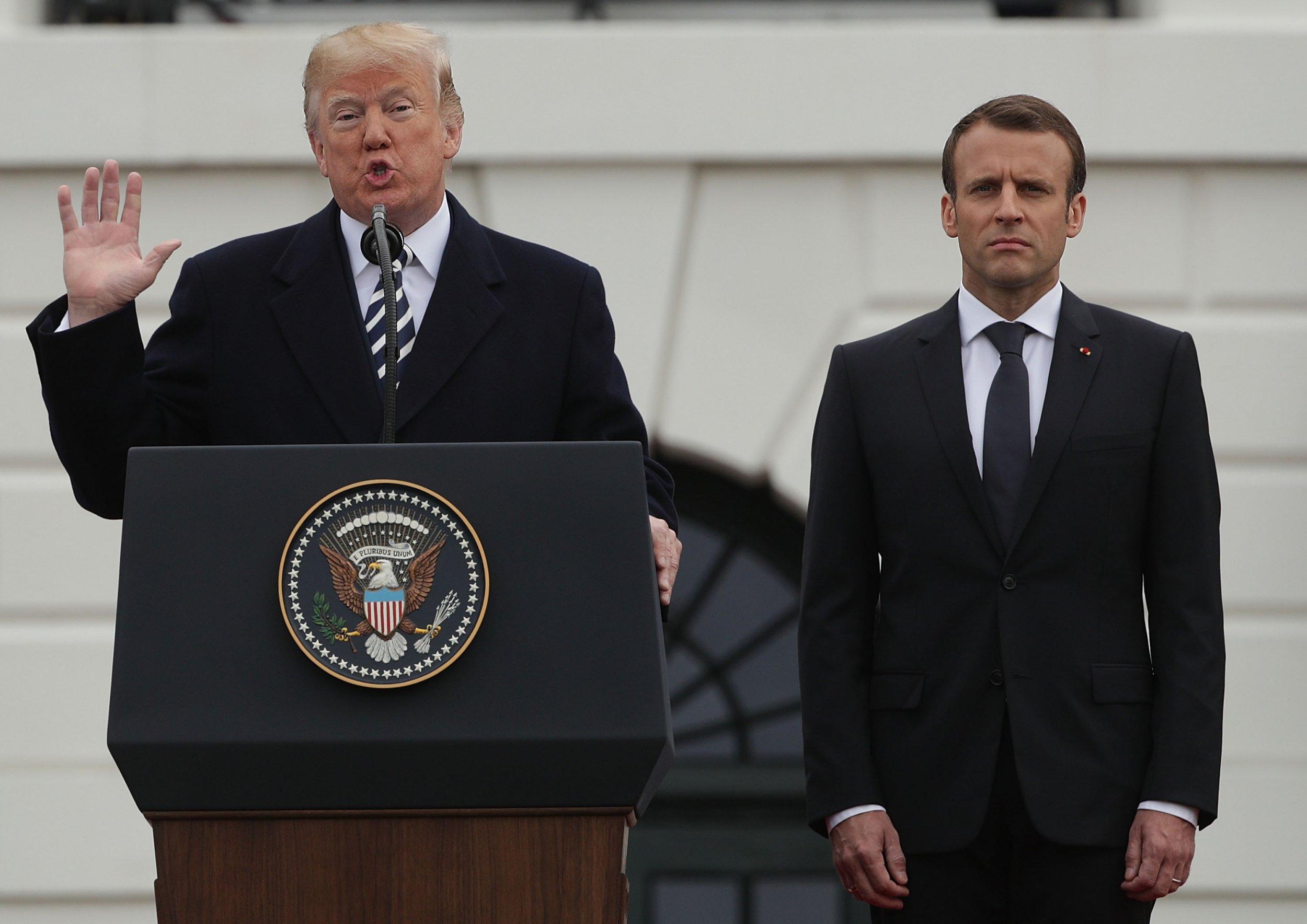 WH-Macron