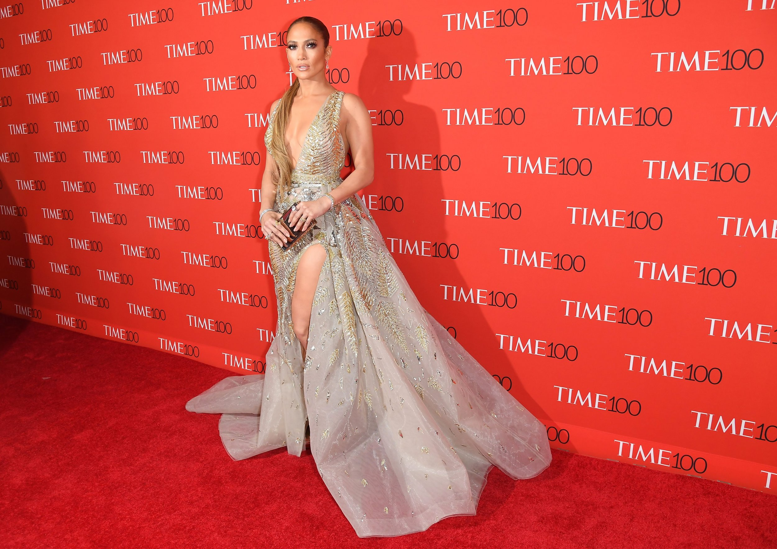 9e038cd69 Singer Jennifer Lopez is pictured attending the TIME 100 Gala at Frederick  P. Rose Hall