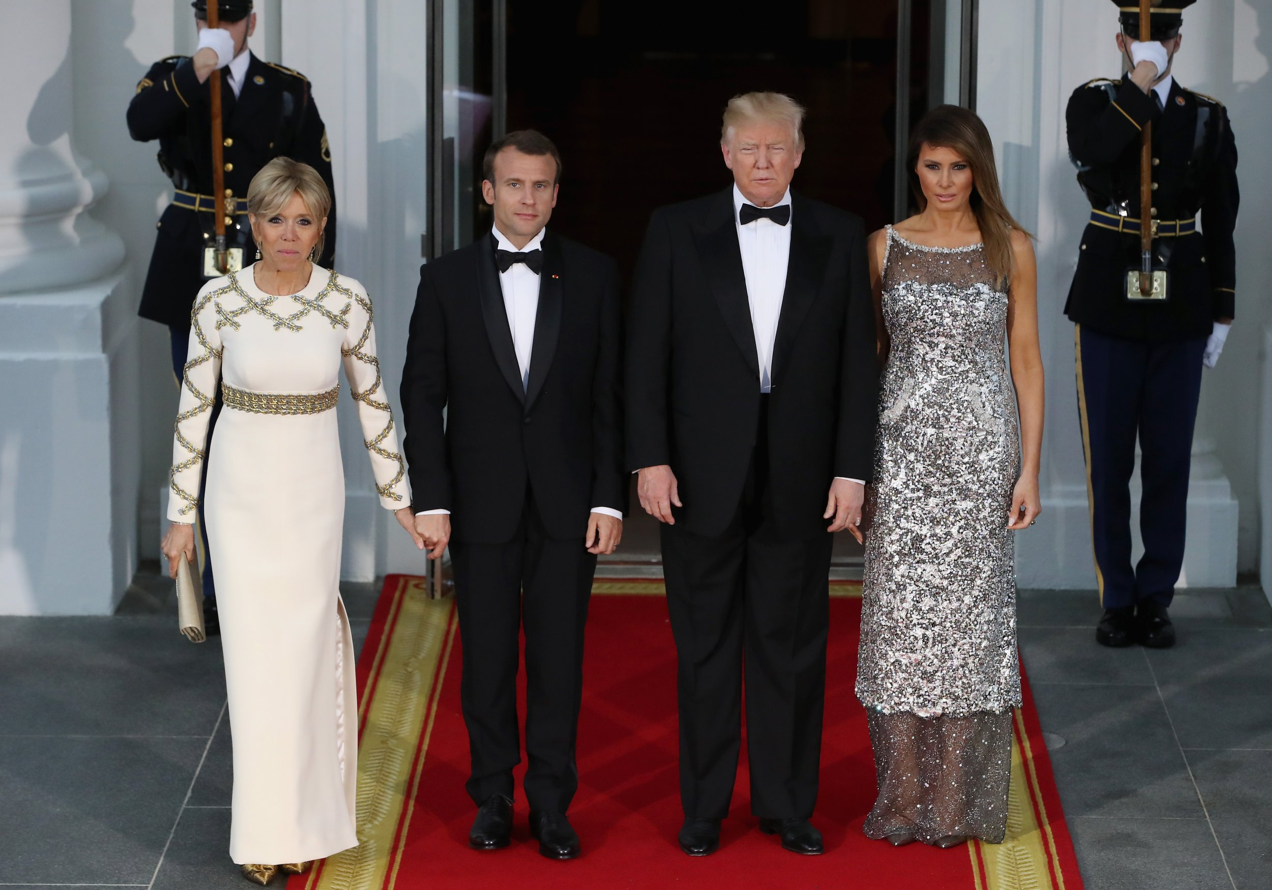 Trump S First State Dinner Likely Richest In History As