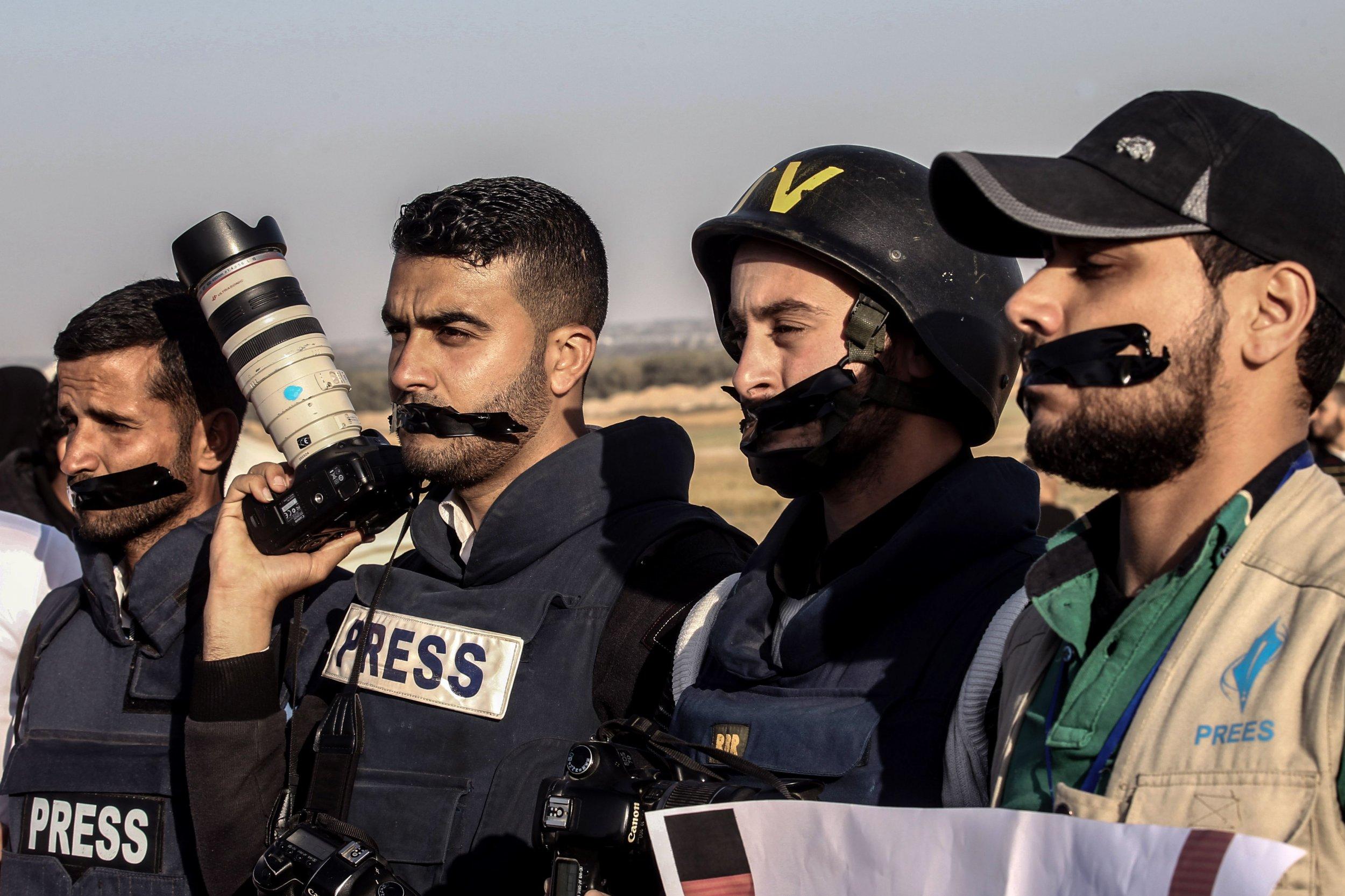 Gaza journalists