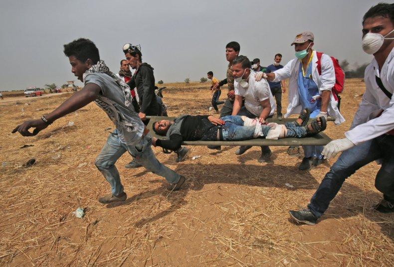Israel Gaza protests