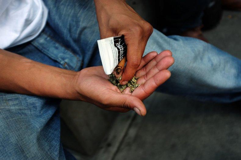 synthetic marijuana NYC hand