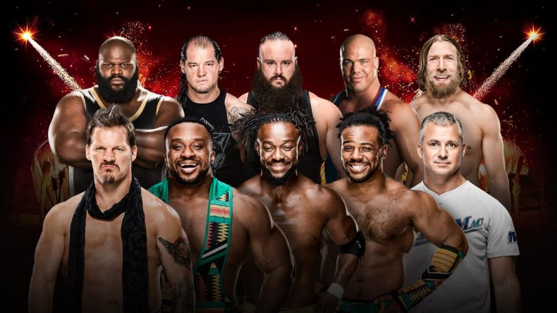 greatest royal rumble match card