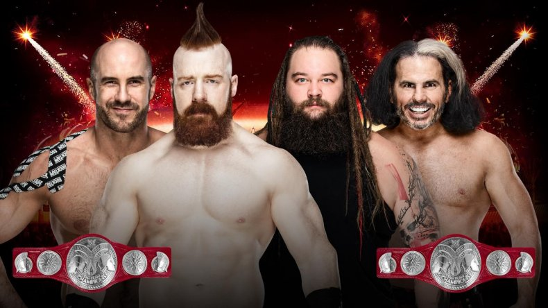raw tag match greatest royal rumble