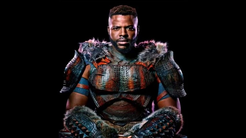 avengers infinty war m'baku black panther winstonduke