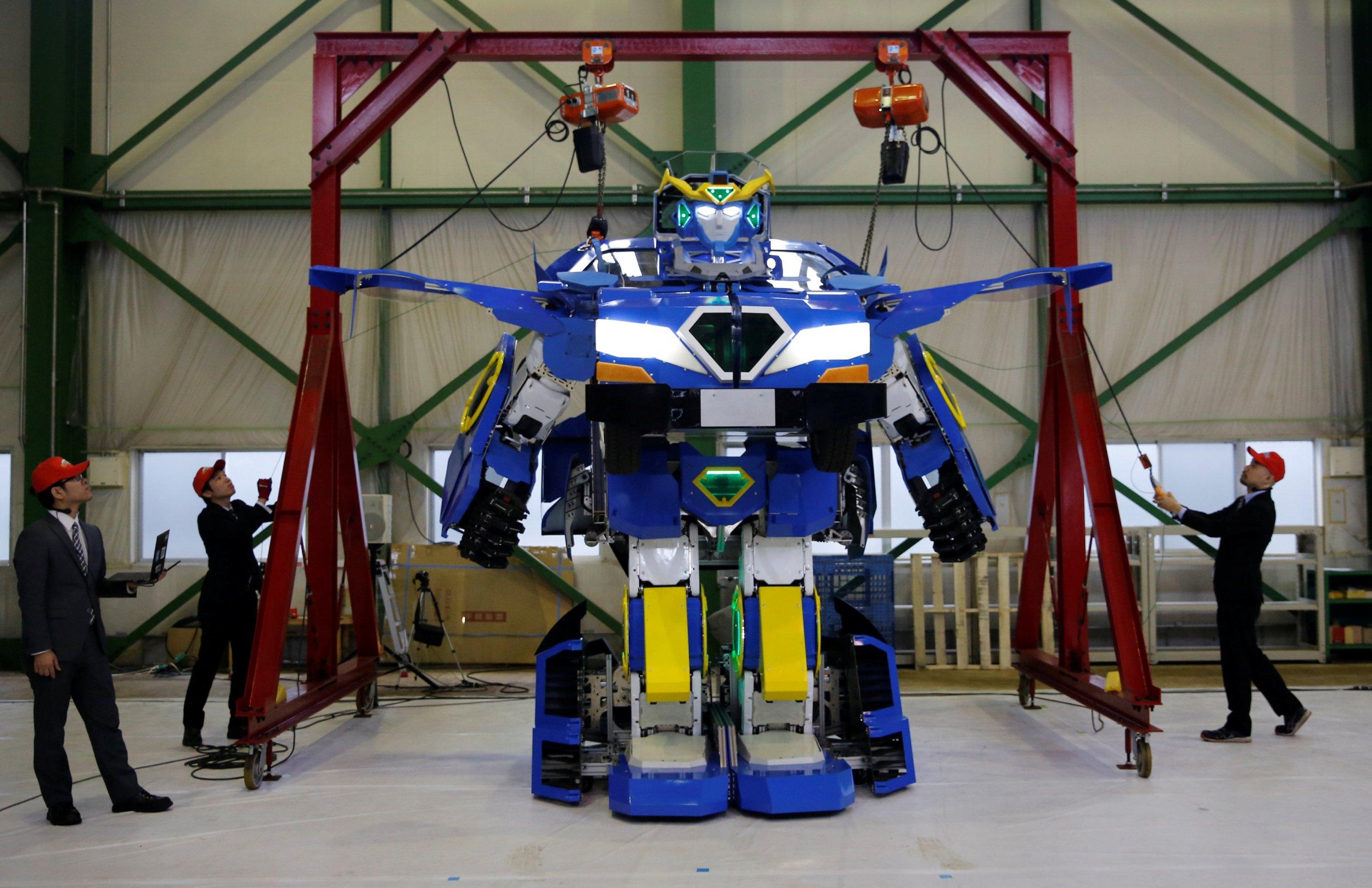 Robots toys