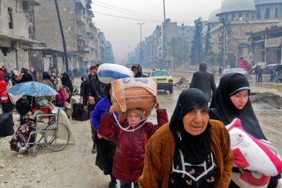Syrian refugewes