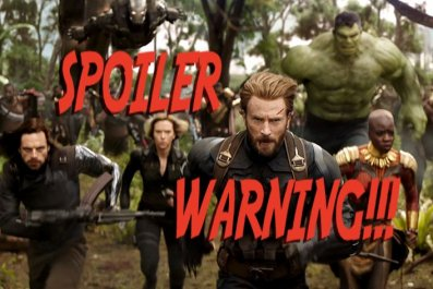 avengers infinity war end credits explained what is symbol captain marvel nick fury justice league