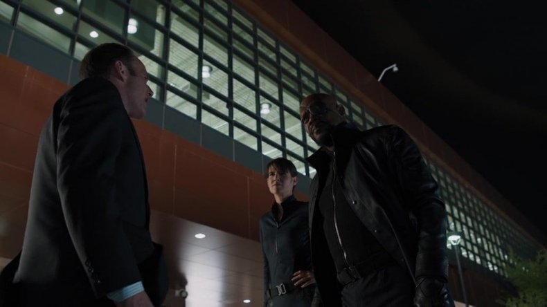 coulson nick fury maria hill shield captain marvel avengers 4