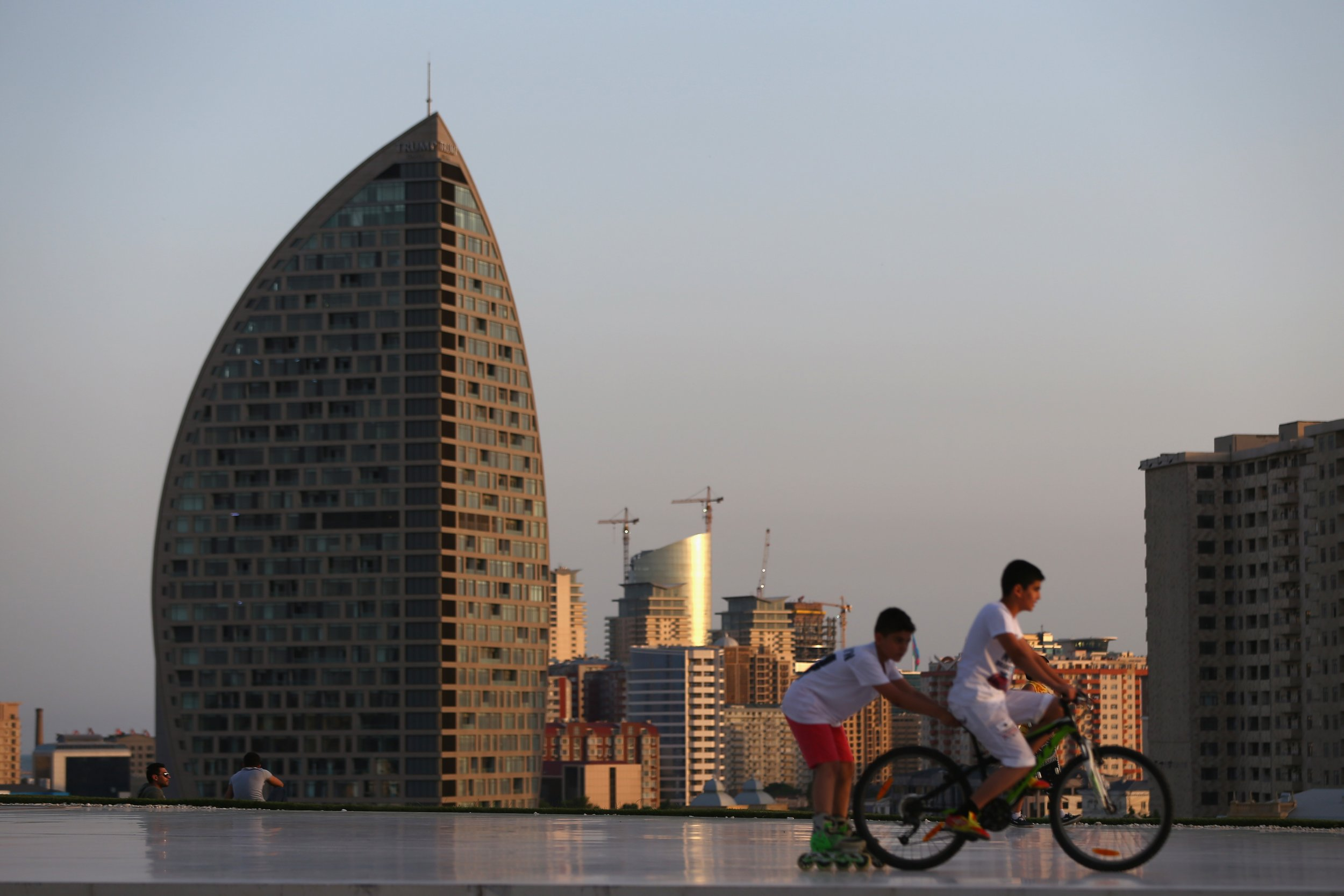 Another Trump Tower Is On Fire This Time In Azerbaijan