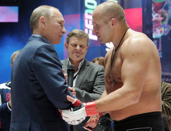 Russian Fighter Fedor Emelianenko Questioned by F.B.I.