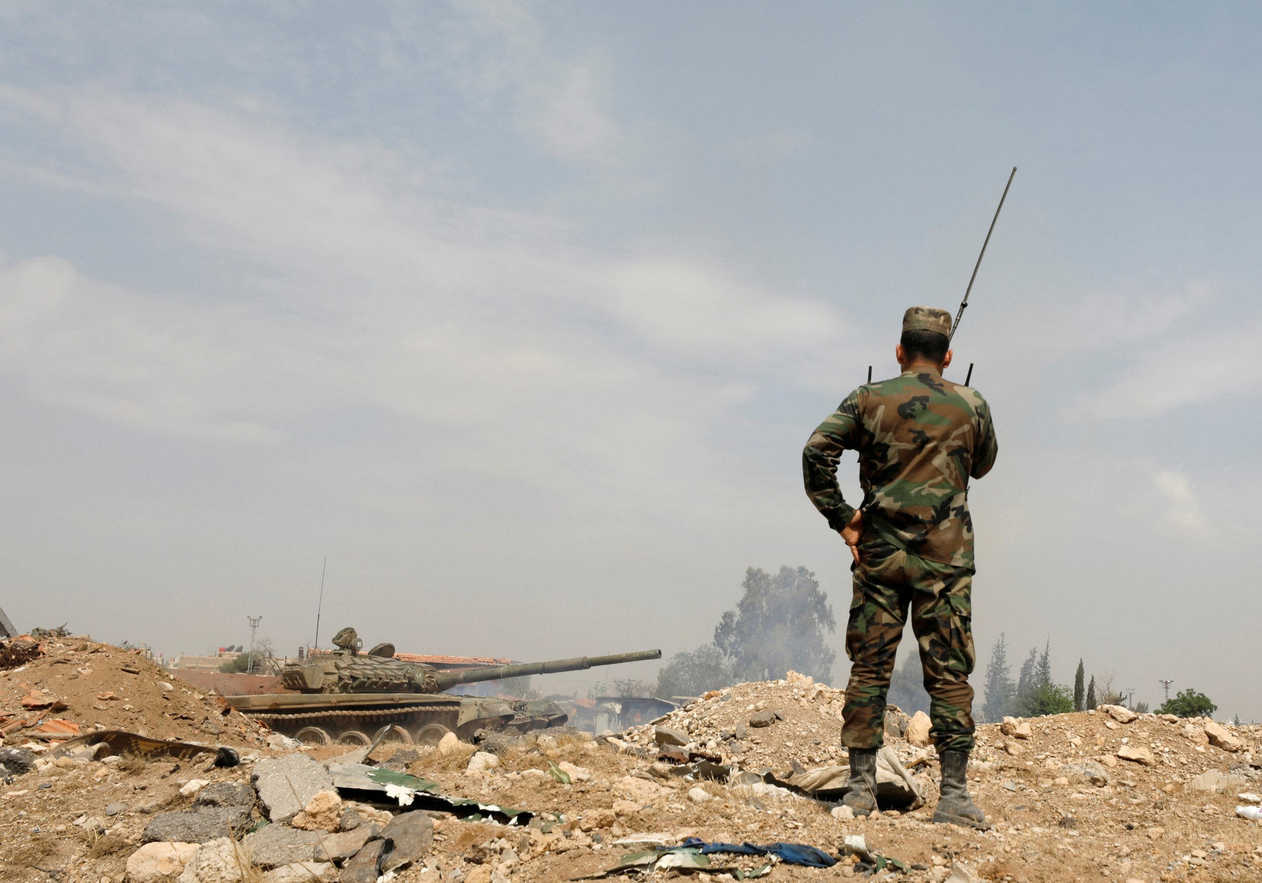 Syria Forces Assad