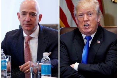 Trump VS Bezos