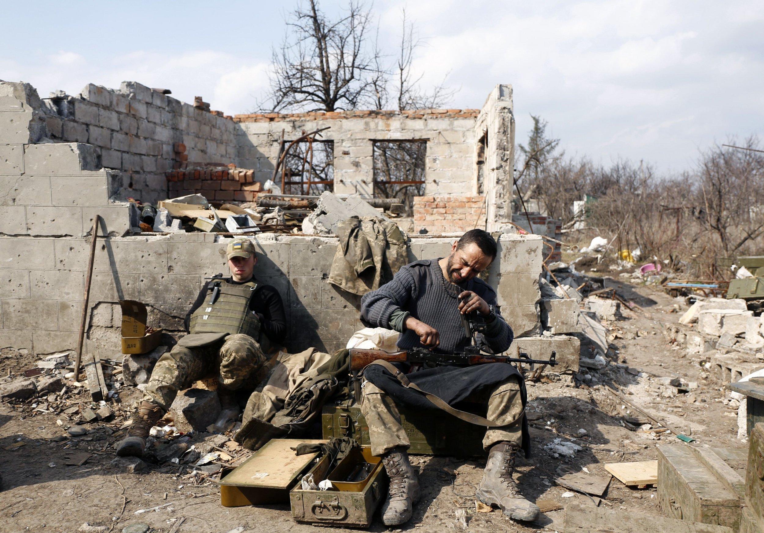 Ukraine fighting