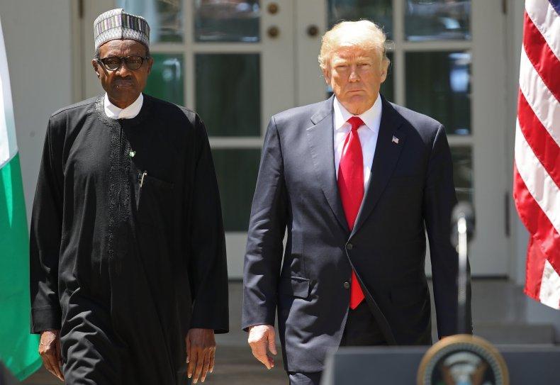 Muhammadu Buhari, trump