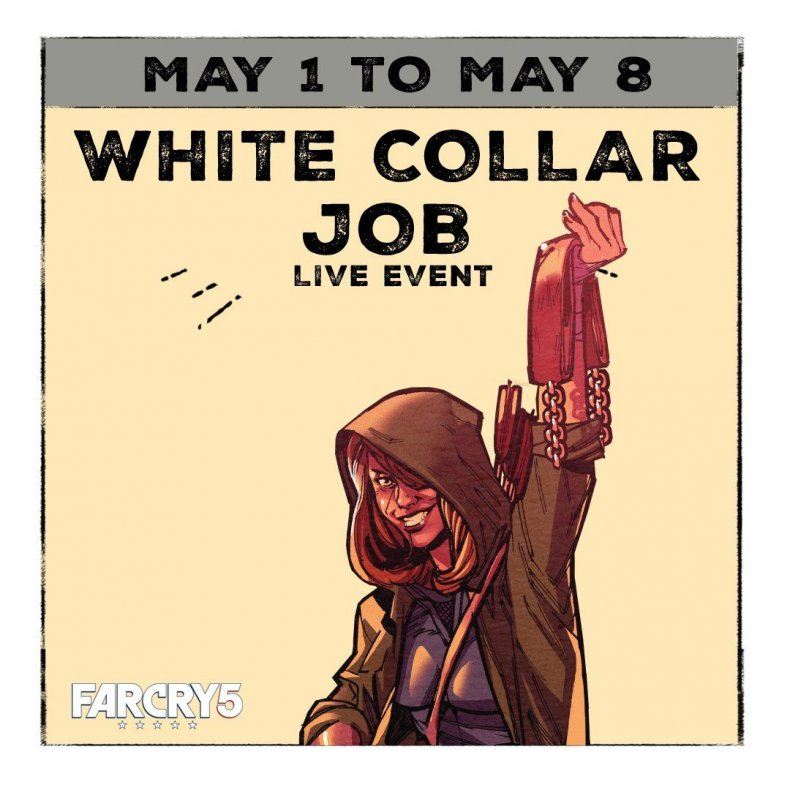 far, cry, 5, white, collar, job, live, event, guide, shovel, launcher, jacobs, hunter, outfit