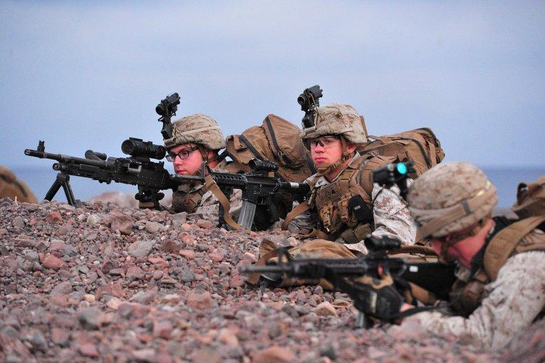 Marines djibouti