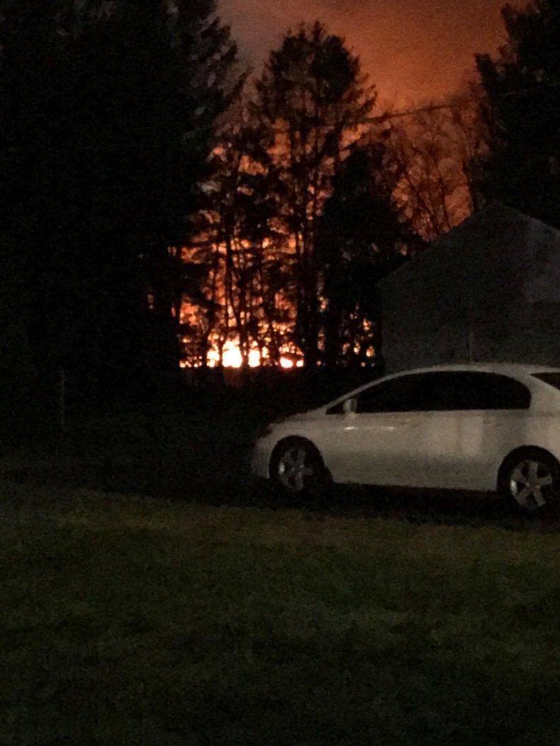 North Hanover Explosion