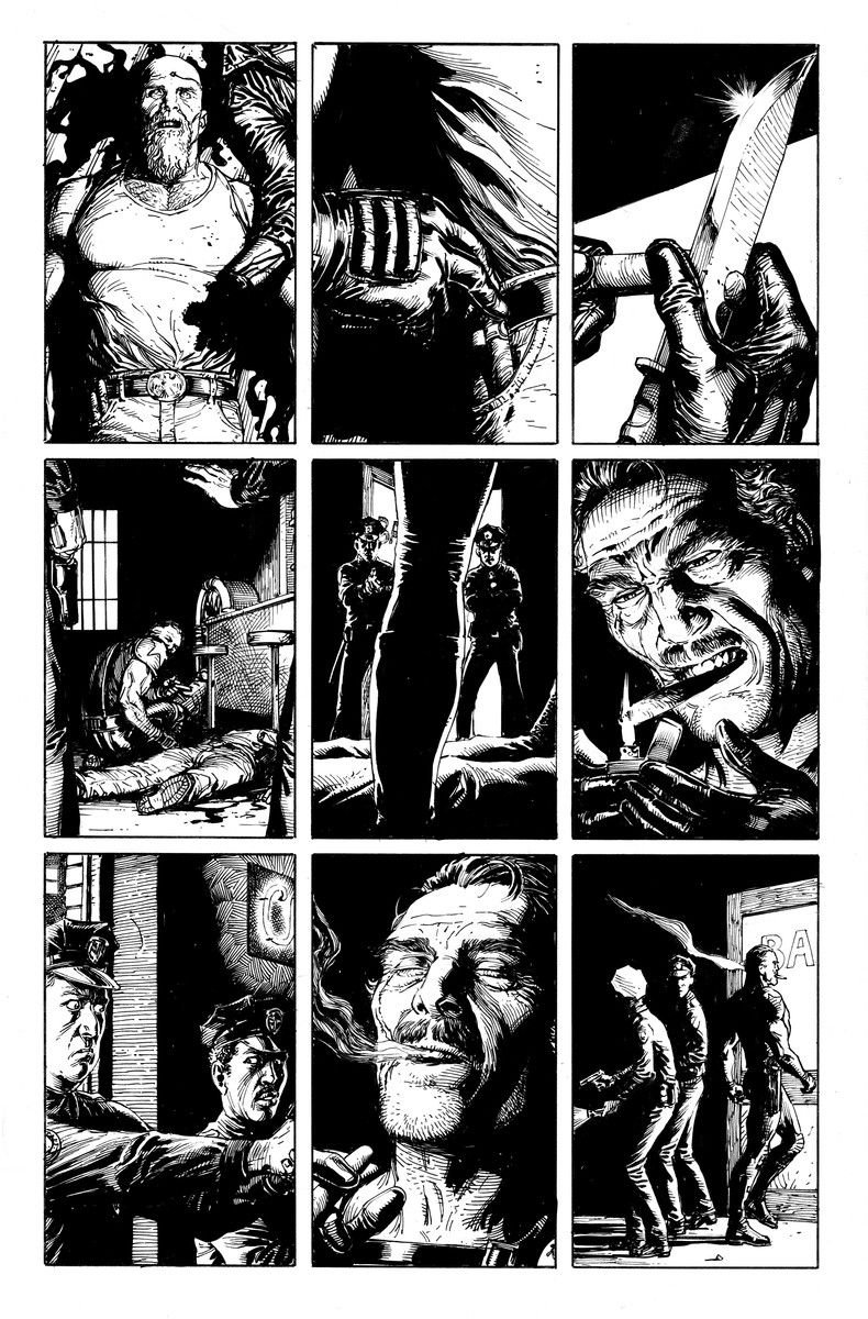 doomsday clock #5 preview issue 5