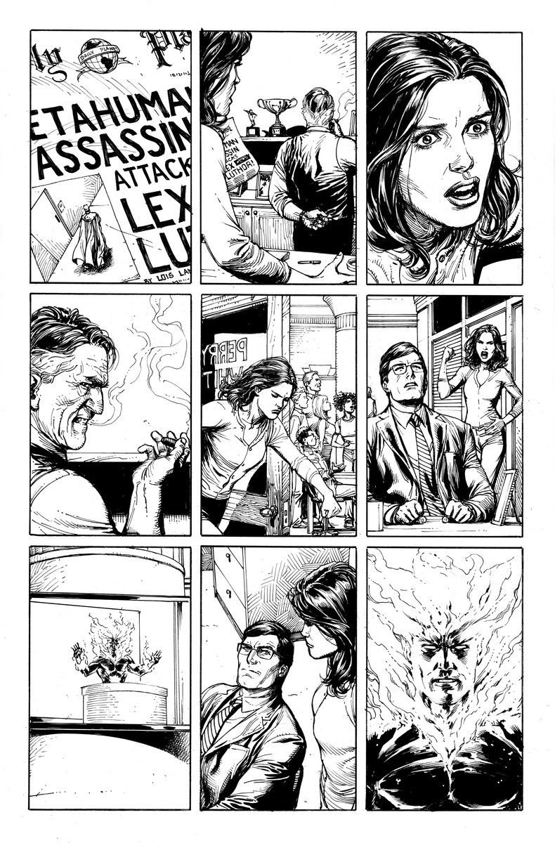 doomsday clock #5 issue 5 preview