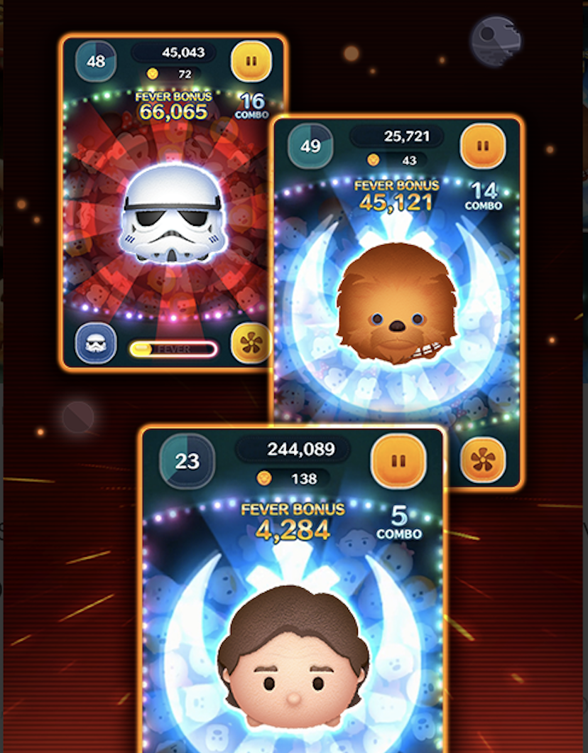 Disney Tsum Tsum  Star Wars Event Puzzle Guide  Flipped Hair ac0ff86c3