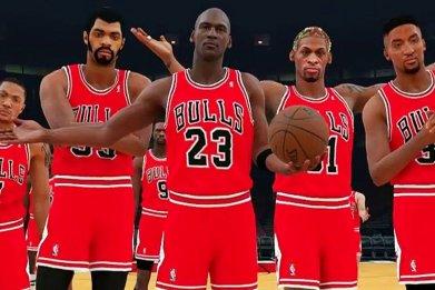 NBA 2K18 Michael Jordan