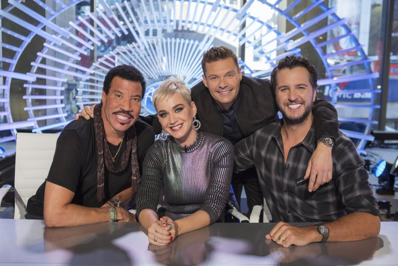 picture of American Idol cast