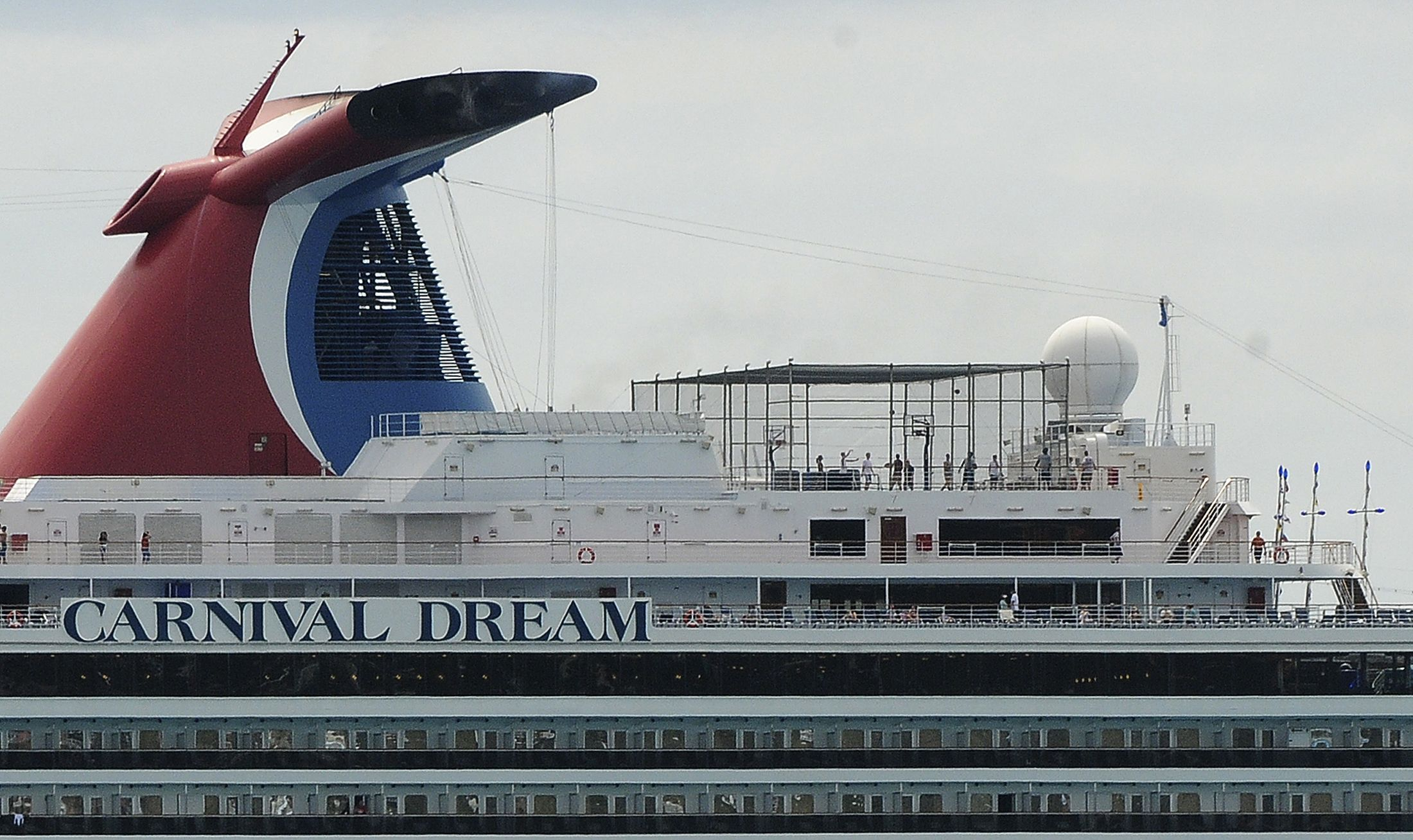 Carnival Cruise Ship Passenger Goes Overboard, Missing Near Florida